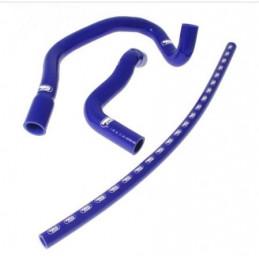 Kit durites silicone SAMCO pour CITROEN C2 VTS refroidissement bleu