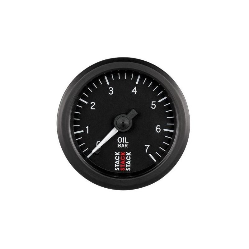 Manomètre de pression d'huile mécanique 0-7 bars