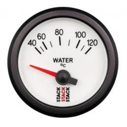 Manomètre STACK électrique température eau 40-120°C Ø 52 mm blanc