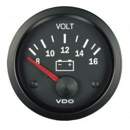 Manomètre voltmètre VDO cockpit vision