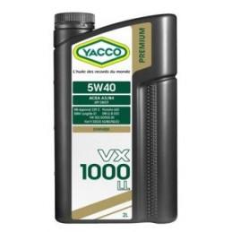 Lubrifiant YACCO VX 1000 5W40