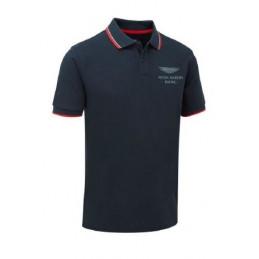 Polo ASTON MARTIN Team Travel Bleu pour homme