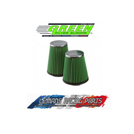 Filtre à air GREEN Diamètre d'entrée 62.5mm