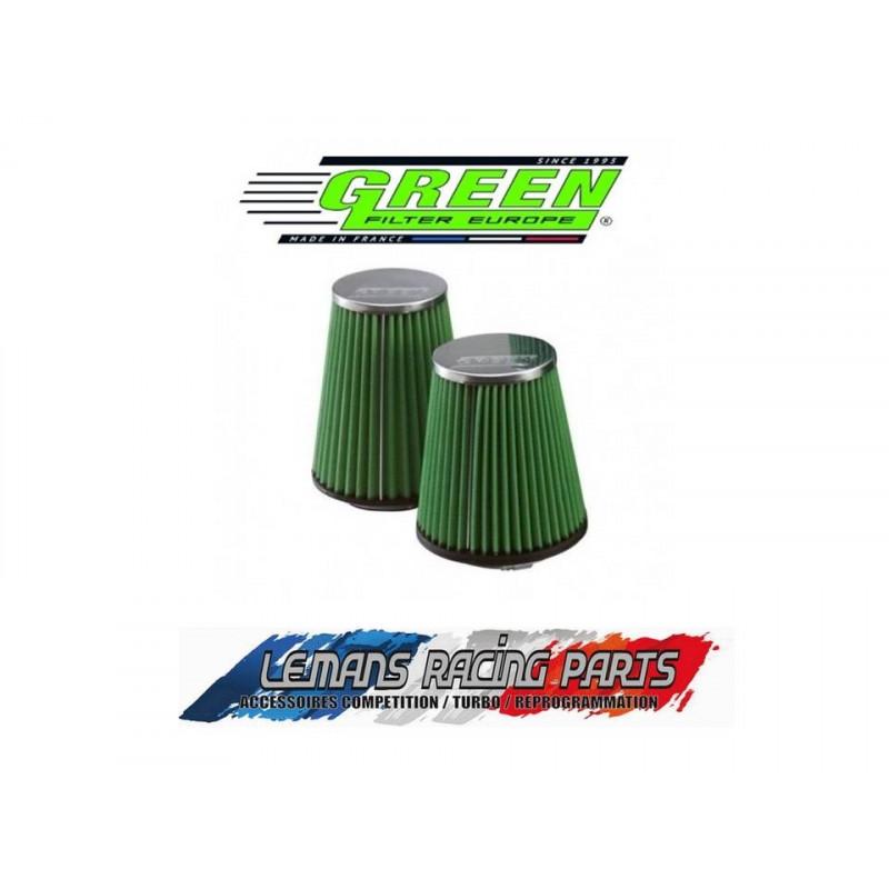 Filtre à air GREEN Diamètre d'entrée 102mm