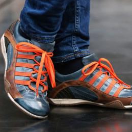Chaussures GULF GPO Monza 2.0 bleu indigo pour homme