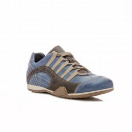 Chaussures GULF Grand Prix Original Seca bleues en cuir pour homme