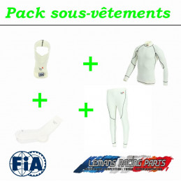 Pack sous-vêtements  FIA complet TURN ONE Pro