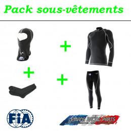 Pack sous-vêtements  FIA complet TURN ONE Pro