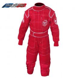 Combinaison Pilote enfant RETRO BRANDS rouge