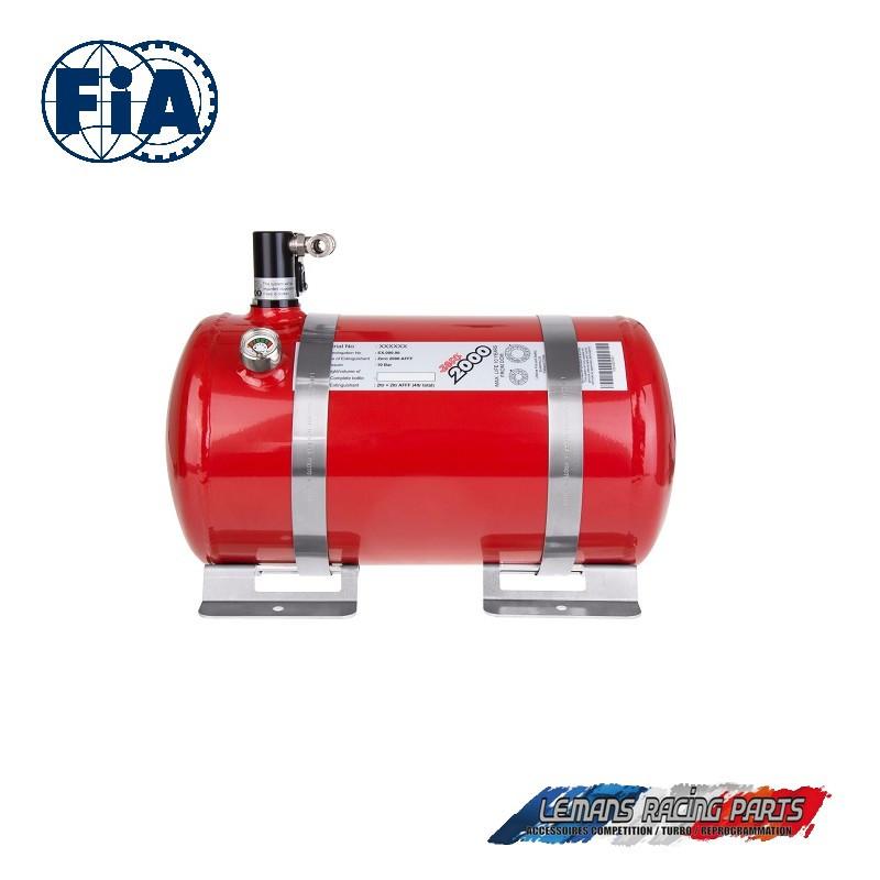 Extincteur FIA kit ZERO 2000 électrique aluminium Lifeline