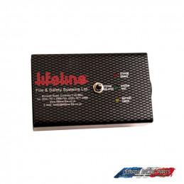 Boîtier de contrôle standard noir pour kits extincteur LIFELINE