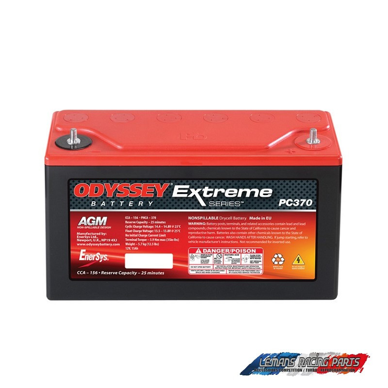 Batterie ODYSSEY Extrême Racing 15 15 A/h démarrage 370 A