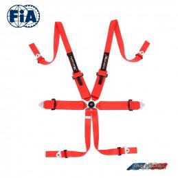 Pack Baquet FIA OMP SPORT Cup intégral + Harnais FIA