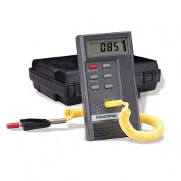 Pyromètre Deluxe digital INTERCOMP -18° à 815°C