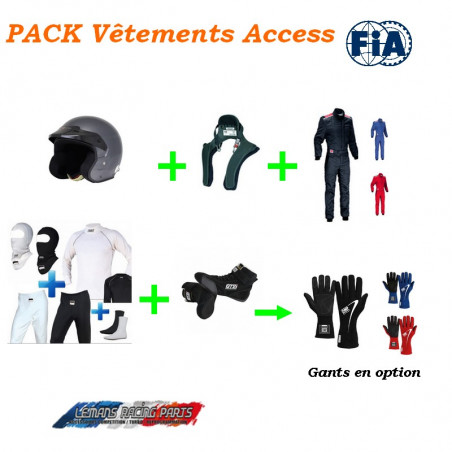 PACK Vêtements FIA Access