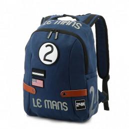 Sac à dos 24H Le Mans - coton bleu