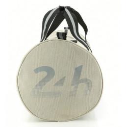 Sac 24H Le Mans - forme polochon coton beige