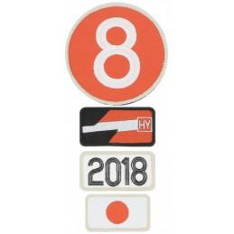 Pochette de 4 patchs brodés 2018 - 24H Le Mans