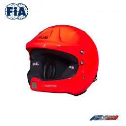 Casque FIA Stilo Jet WRC DES Rally Composite Orange