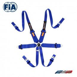 Pack Baquet FIA OMP First-R + Harnais Turn one FIA