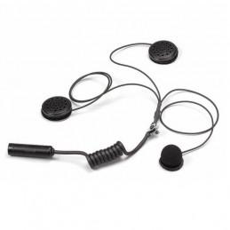 Micro + écouteurs pour casque intégral STILO pour radio WRC