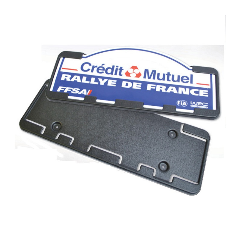 Support de plaque Rallye REDSPEC