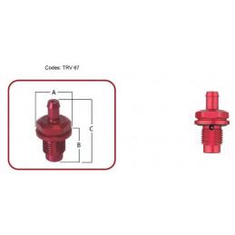 Clapet de mise à l'air fixation réservoir NEWTON 9/16x18UNF DH6