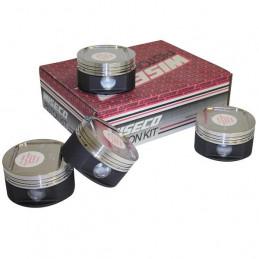 Kit pistons forgés WISECO Ø80 mm pour CITROEN Saxo C2 1.6 16V VTS ou PEUGEOT 106 S16 / 206 1.6 16V / TU5J4 et TU5JP4