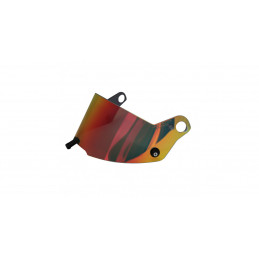 Visière irridium rouge pour casque Stilo ST5