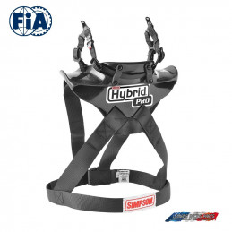 SIMPSON Hybrid Pro Lite avec attaches type clip HANS®