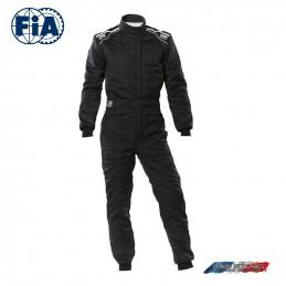 Combinaison FIA OMP Sport noir