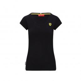 T-shirt FERRARI noir femme