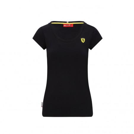T-shirt FERRARI noir pour femme