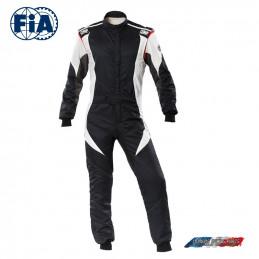 Combinaison FIA First Evo OMP noir