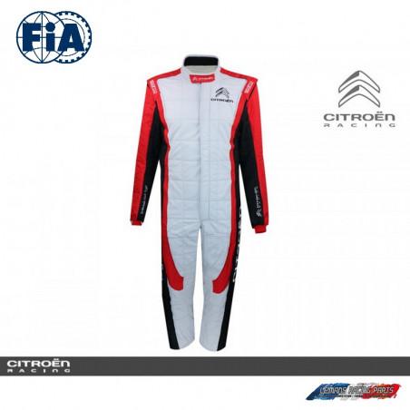 Combinaison Pilote FIA Citroën Racing Sparco