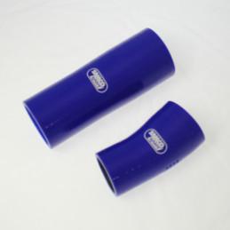 Kit durites silicone SAMCO pour RENAULT Megane II RS turbo bleu