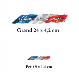 Autocollants LE MANS RACING PARTS