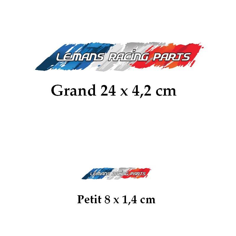 Autocollants LE MANS RACING PARTS