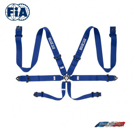 Harnais FIA SPARCO 04818RAC bleu