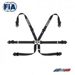 Harnais FIA SPARCO 04796F noir