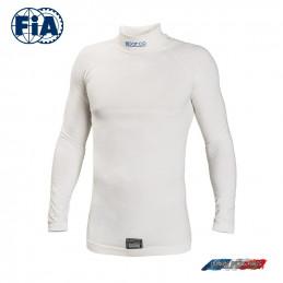 T-SHIRT manches longues FIA SPARCO Delta RW-6 blanc