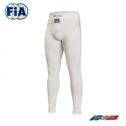 Pantalon SPARCO FIA Delta RW-6 blanc