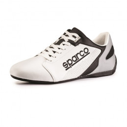 Chaussures en cuir SPARCO SL-17 blanc pour homme