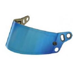Visière mirroir pour casques BELL HP7, RS7, RS7-K et KC7-CMR bleu