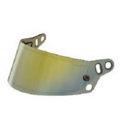 Visière mirroir pour casques BELL HP7, RS7, RS7-K et KC7-CMR or