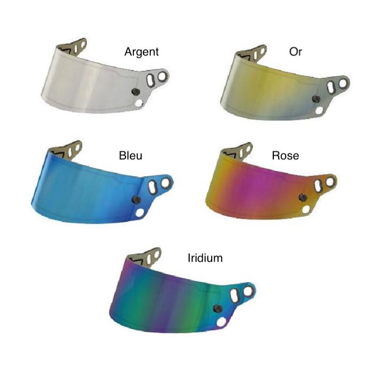 Visière mirroir pour casques BELL HP7, RS7, RS7-K et KC7-CMR