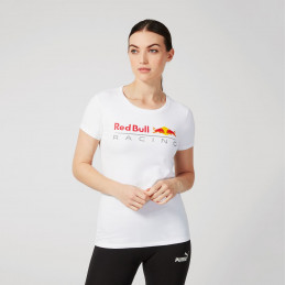 T-shirt RED BULL Racing blanc femme