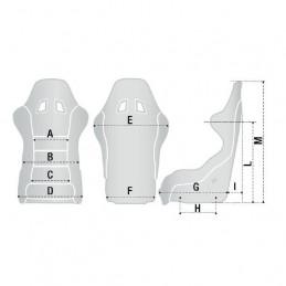 Baquet SPARCO R100 version tissu