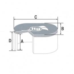 Filtre à air ITG Megaflow JC100