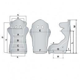 Baquet SPARCO FIA Pro ADV TS Light